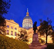 Georgia State capitol Royalty Free Stock Photography