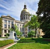 Georgia State-Kapitol stockbilder