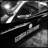 Georgia State Patrol car Royalty Free Stock Images