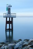 Georgia Strait, Navigation Aid Royalty Free Stock Image