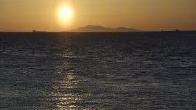 Georgia Strait Sunset 4K stock video footage