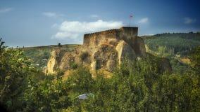 Georgia,Surami. Georgia,Gruzia,Saqartvelo, Surami fortress,view from the road royalty free stock images
