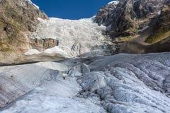 georgia Svaneti Gletscher Adishi - Lardaad Stockfotografie