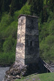Georgia, Svaneti towers Stock Photo