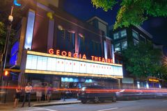 Georgia Theatre Royalty Free Stock Photography