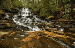 Georgia und Nord-Carolina Waterfalls Lizenzfreies Stockbild