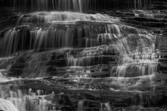 Georgia und Nord-Carolina Waterfalls Stockfotos