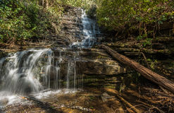Georgia und Nord-Carolina Waterfalls Stockbild