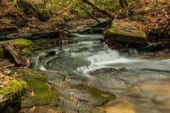 Georgia und Nord-Carolina Waterfalls Stockfotografie