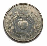 Georgia US quarter dollar. Georgia United States collection quarter dollar Stock Images