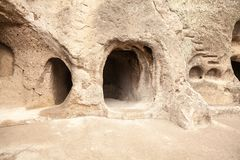 Vardzia. Hole, dwelling. Stock Image