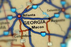 Georgia, Vereinigte Staaten US Lizenzfreie Stockfotografie