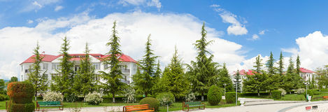 georgia wakacyjna domowa natury panorama Obraz Royalty Free