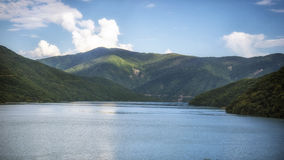 Georgia,Zhinvalis National Water Reserve. Georgia,Gruzia,Saqartvelo, Zhinvalis National Water Reserve - lake stock photography