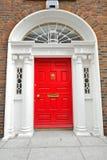 Georgian двери в Дублин Стоковое Фото