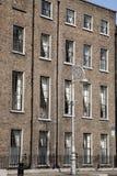 Georgian Architecture, Mount Street Upper, Dublin Royalty Free Stock Photography