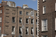 Georgian Architecture, Mount Street Upper, Dublin Stock Photos