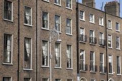 Georgian Architecture, Mount Street Upper, Dublin Royalty Free Stock Photos