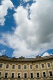 Georgian architecture and summer sky Royalty Free Stock Image