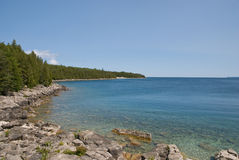Georgian Bay, Canada. View of a scenic lake with clear water. Georgian Bay, Canada Stock Photos