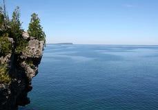 Georgian Bay Cliff Royalty Free Stock Photo