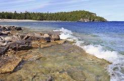 Georgian Bay, Lake Huron. Canada royalty free stock image