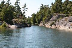 A Georgian Bay River Stock Photos