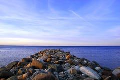 Georgian Bay Rocks Stock Image