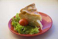 Georgian breakfast pie Royalty Free Stock Photo