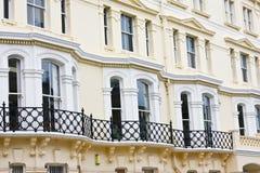Victorian buildings Stock Photos