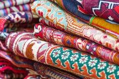 Georgian Caucasian Antique Kilim Rugs stock photos