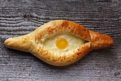 Georgian cheese pie Stock Photography