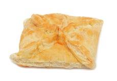 Georgian cheese-pie, isolated Royalty Free Stock Photo