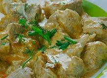 Georgian chicken with walnut sauce. Katmis Satsivi royalty free stock images