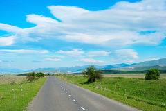 Georgian country road Stock Photography