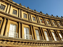 Georgian Crescent Royalty Free Stock Photo