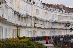 Georgian Crescent in Bristol UK Stock Image