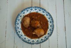 Georgian cuisine. Chakhokhbili. Chicken Stew Stock Image