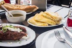 Georgian cuisine Lula Kebab Stock Image