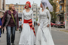 Georgian culture festival 'Tbilisoba' in Kyiv Stock Images