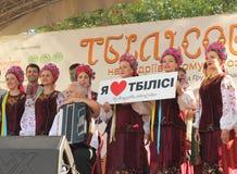Georgian culture festival Stock Image