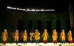 Georgian dancers Stock Images