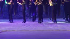 Georgian dances stock video