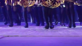 Georgian dances stock video footage