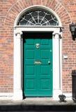Georgian door in Dublin Royalty Free Stock Photography