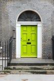 Georgian door. Old door in London, UK - typical Georgian architecture feature royalty free stock photos