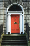 Georgian Doors Stock Photo