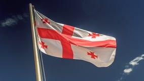Georgian flag Stock Images