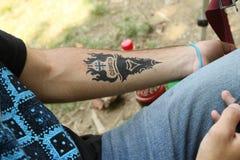 Georgian Folk Art Gene Festival stock images