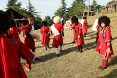 georgian folk gen för konstfestival Royaltyfria Foton